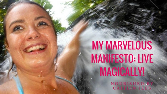 My Marvelous Manifesto