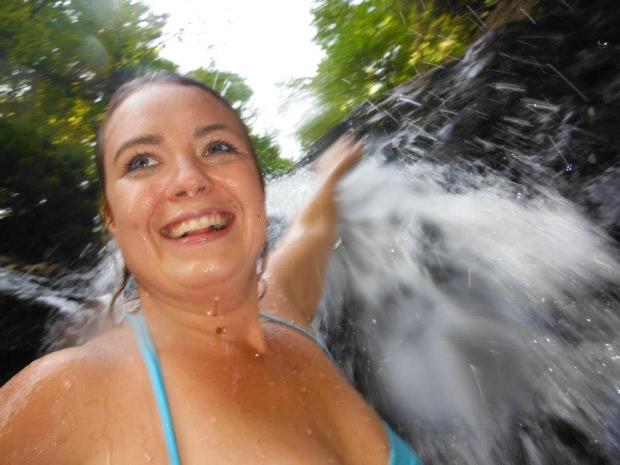 Yay for waterfalls! Boo for upward shooting angles!
