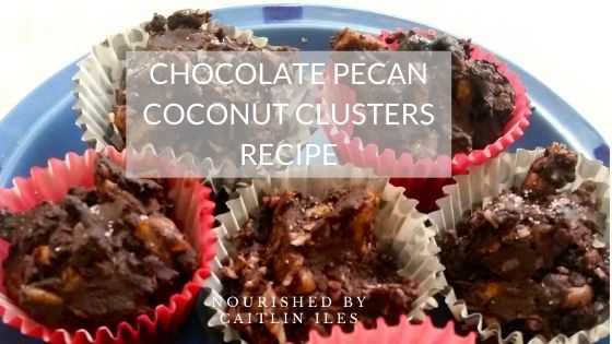 Pecan Chocolate Coconut Clusters