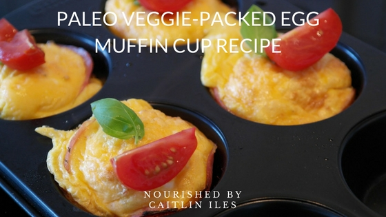 Pale Veggie-Packed Egg Muffin Cups Recipe