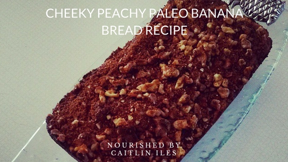 Cheeky Peachy Banana Bread Recipe