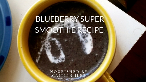 Blueberry Super Smoothie Recipe