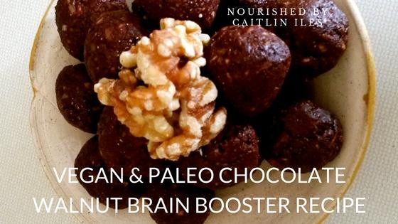 Chocolate Walnut Brain Boosters Recipe