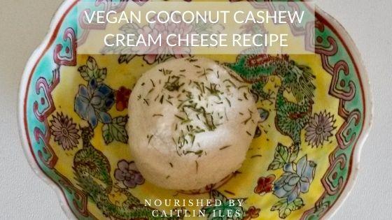 Coconut Cashew Cream Cheese Recipe