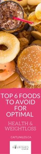 top foods to avoid for lasting weight loss