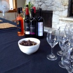 Getting ready for the Chocolate Making & Wine Workshop
