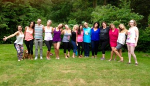 Our beautiful group of Re-Treaters. They made this weekend so unbelievably special I will be forever grateful!