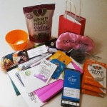Our amazing treat bags filled with healthy treats  to help us live our best lives!