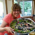 Our first salad of the weekend... it set the stage for the awesomeness that was to come!