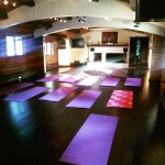 The yoga room is ready for action!