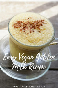 Easy Vegan Golden Milk Recipe