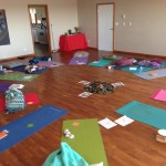 Our beautiful mats and sacred space