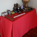 Our weekend altar