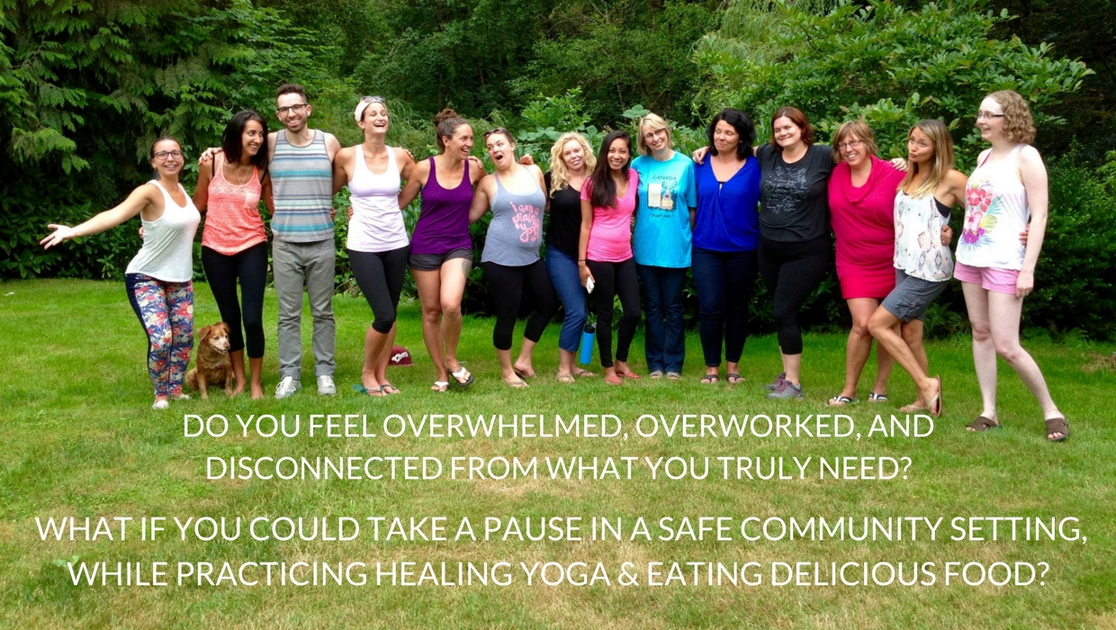 Nourish Yourself Day Retreat Yoga & Wellness Retreats in New Brunswick