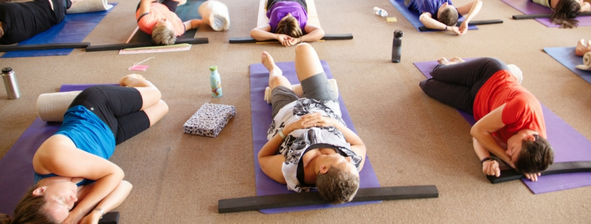 Yoga & Wellness Retreat in New Brunswick Restorative Yoga Class