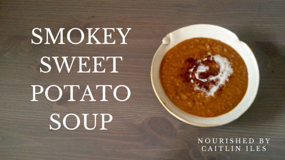 Smokey Sweet Potato Soup Recipe