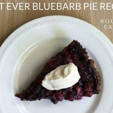 Best Ever Rhubarb Pie Recipe