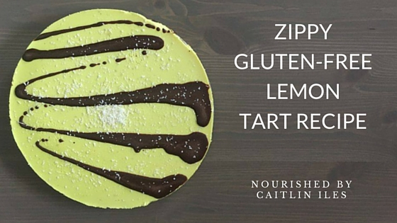 Zippy Gluten-Free Lemon Tart Recipe
