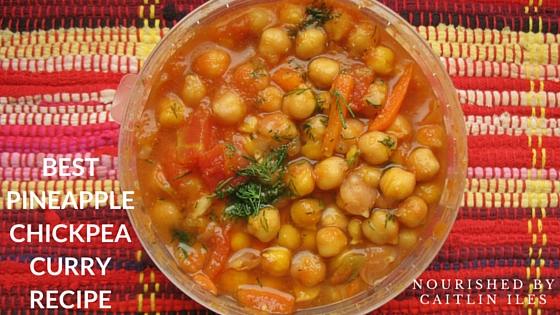 Pineapple Chickpea Curry Recipe
