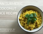 turmeric coconut rice recipe