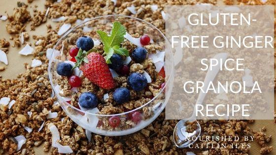 Gluten-Free Ginger Spice Granola Recipe
