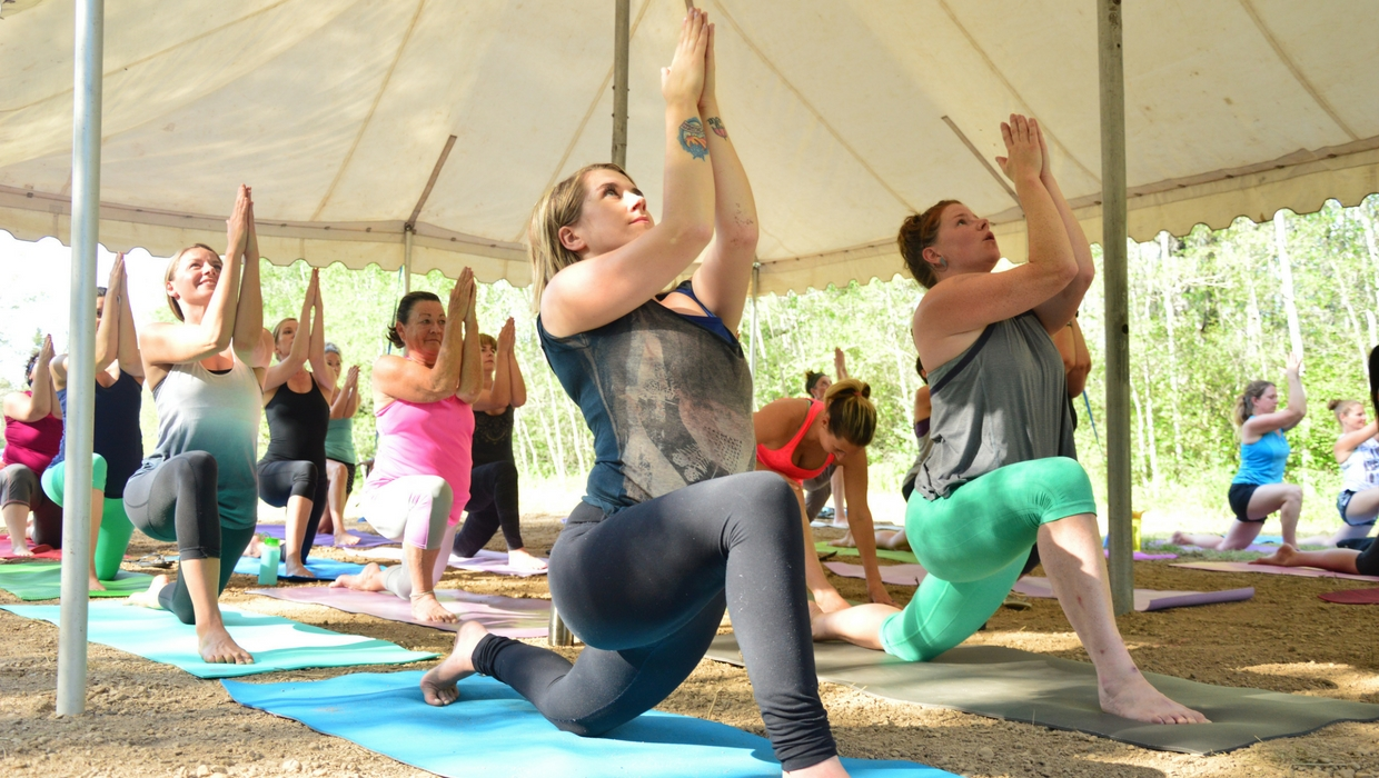 Spicy Vinyasa Yoga Classes with Caitlin Iles