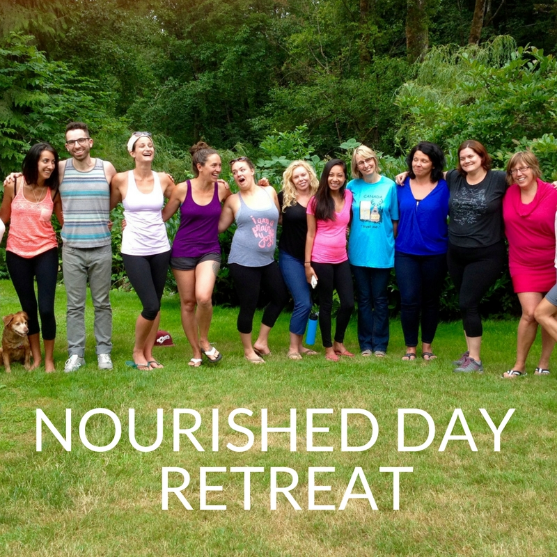 nourish yourself day retreat with caitlin iles