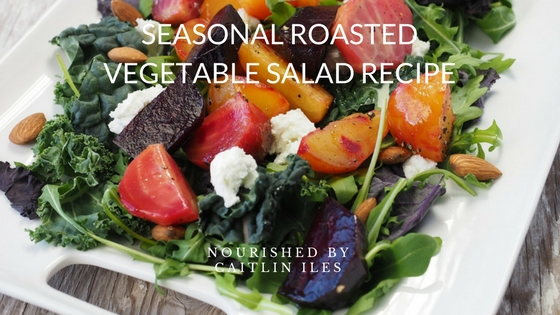 Seasonal Roasted Vegetable Salad Recipe