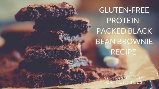 Gluten-Free Black Bean Breakfast Brownie Recipe