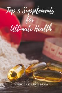 Top 5 Best Supplements For Ultimate Health