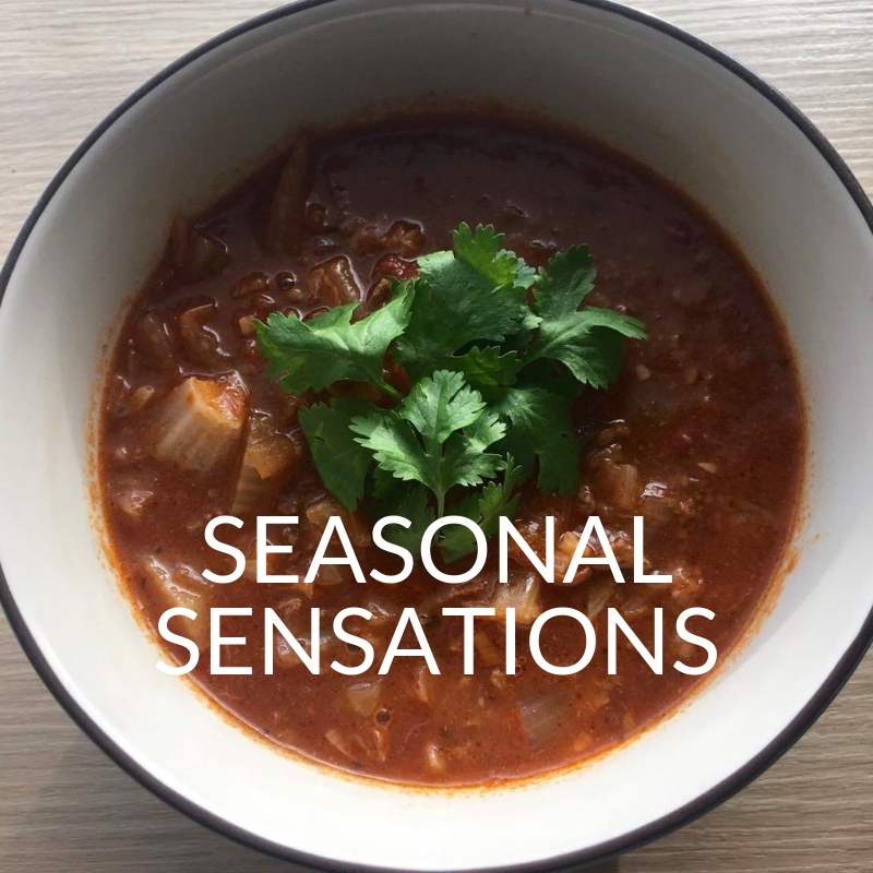 Seasonal Sensations Cooking Class