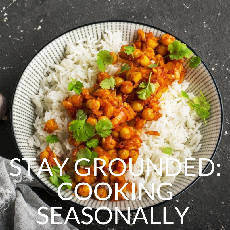 Stay grounded cooking seasonally cooking class