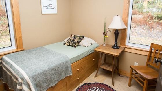 Yoga Meditation Weekend Retreat in Nova Scotia Accommodations