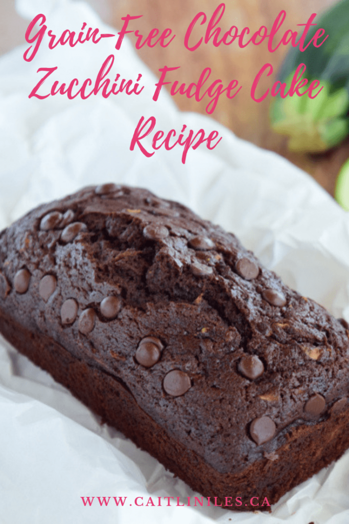 Grain-Free Vegan Chocolate Zucchini Fudge Cake Recipe