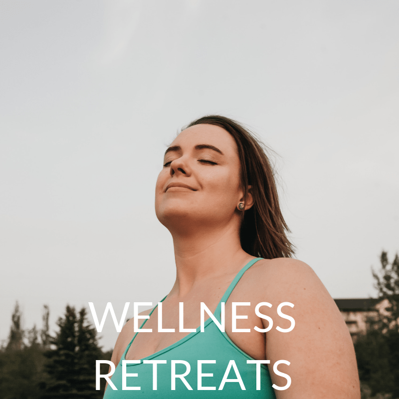 yoga and wellness retreats with caitlin iles