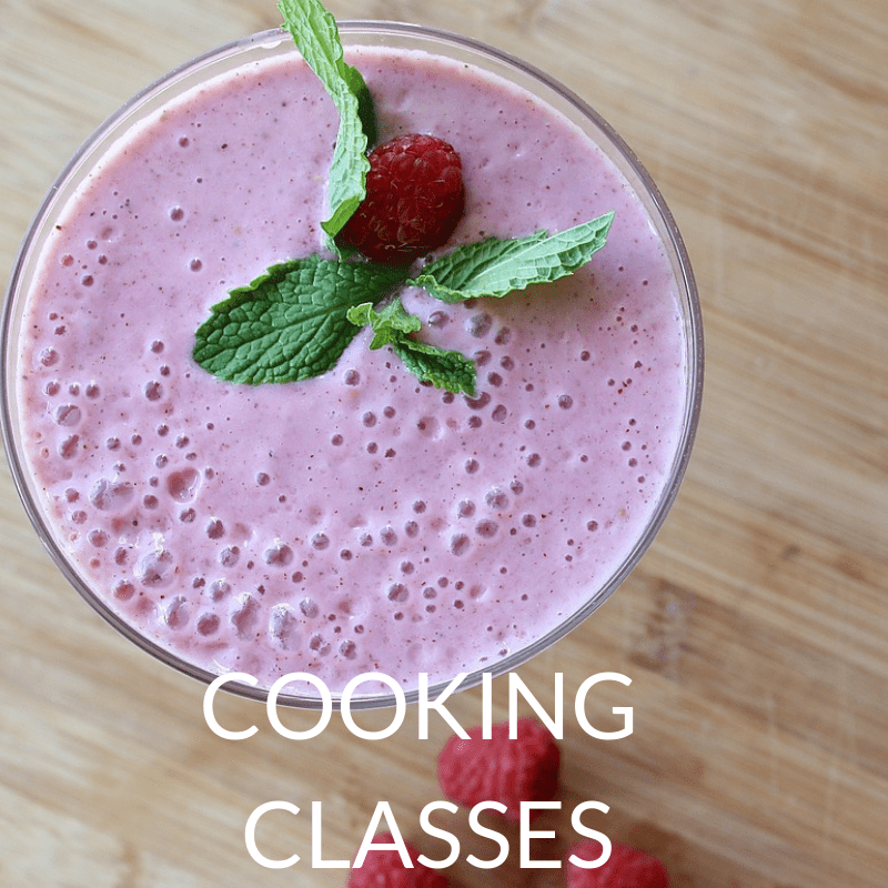 healthy cooking classes with caitlin iles