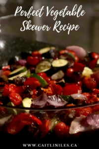 Perfect BBQ Vegetable Skewer Recipe