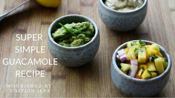 Super Simple Guacamole Recipe