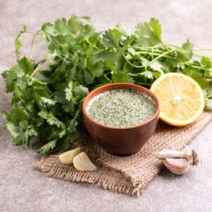 Paleo Friendly Cilantro Arugula Pesto Recipe