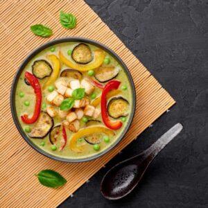 Paleo Green Veggie Curry Recipe