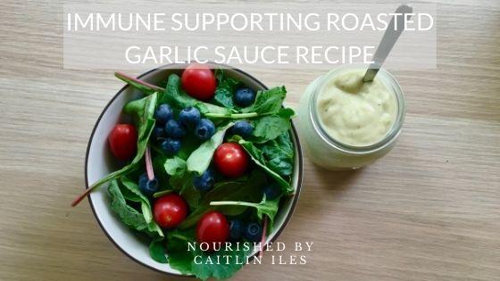 Immune-Supporting Roasted Garlic Sauce Recipe