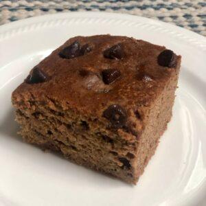 Paleo Chocolate Almond Banana Breakfast Bar Recipe