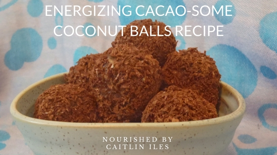 Cacao-some Coconut Balls Recipe!