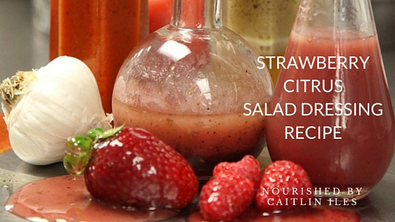 Strawberry Citrus Balsamic Vinaigrette Recipe