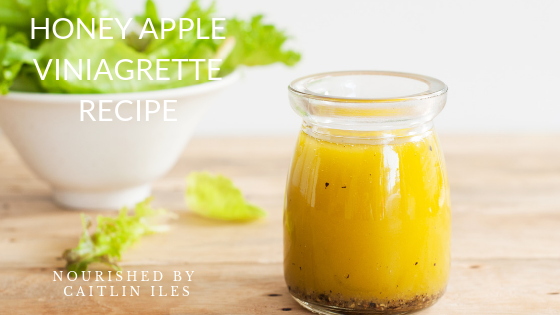 Cait's Honeyed Apple Vinaigrette Recipe