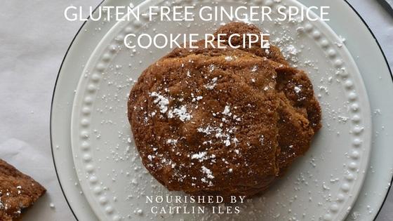 Gluten-Free Ginger Spice Cookie Recipe