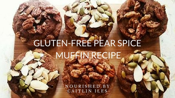 Gluten-Free Pear Spice Muffin Recipe