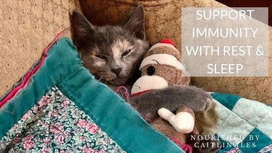 How Sleep & Rest Help Support Immune Function
