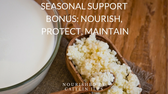 Seasonal Support Bonus: Top Tummy-Loving Foods