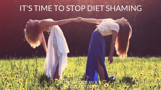 It's Time to Stop Diet Shaming
